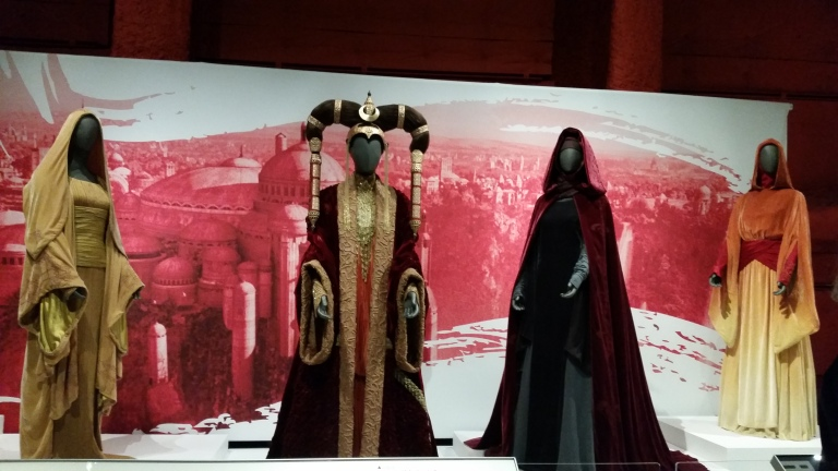 Star Wars Power of Costume Exhibit at EMP Museum  Seattle, WA 2015