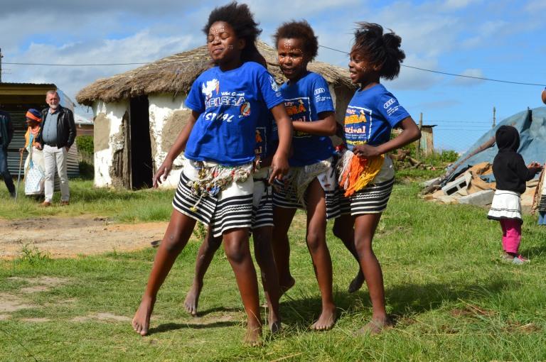 Xhosa girls dancing 2015